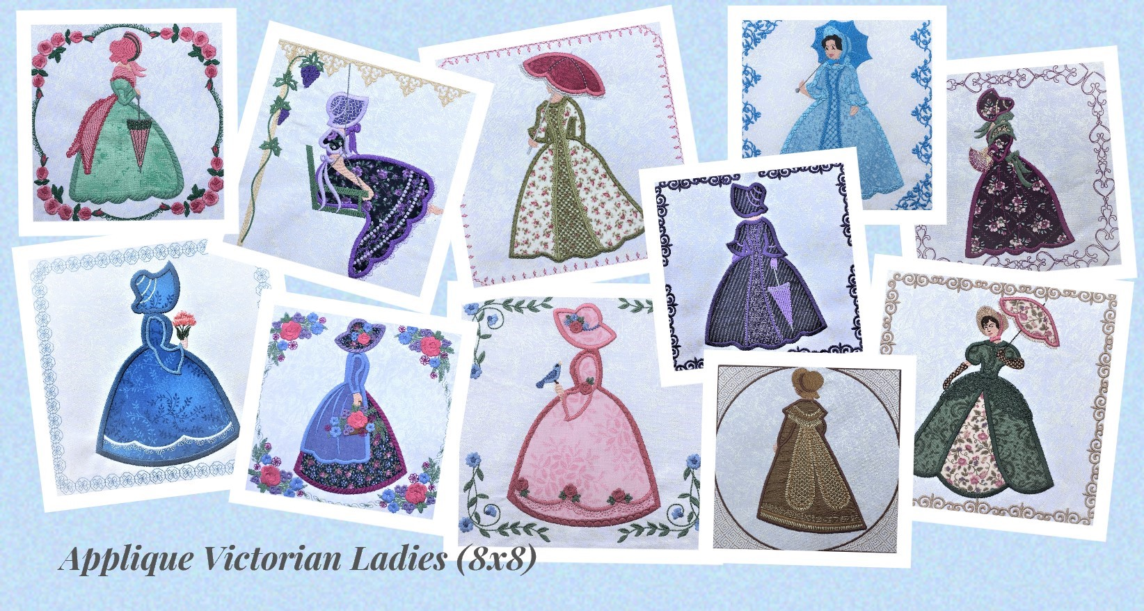 Victorian Ladies Collage